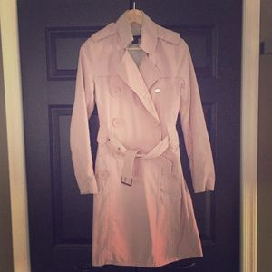 Marc Jacobs Light Pink Trench Coat